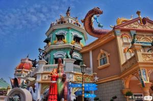 【4月】【梦幻江南】D.迪士尼(一次入园)+上海登高双飞3日半自由游