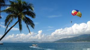 【7月】三亚纯净海洋海南西岛大小洞天天涯海角呀诺达椰田古寨红艺人表演双飞5日游