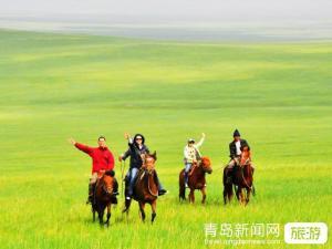【7月】张家口、内蒙古锡林郭勒草原大巴五日游(有自费)