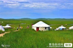 【8月】青岛成团一路向北呼伦贝尔大草原莫尔道额尔古纳湿地中俄边境满洲里双飞5日游