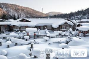【11月】【北国奇缘】东北哈尔滨、亚布力雪乡、雪地温泉亚雪民俗第一村双飞6日游