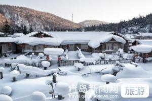 【1月】【冰雪旅拍】东北哈尔滨亚布力雪地摩托冰凌谷雪乡私人摄影师雪地温泉5日游