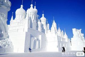 【春节】【雪乡至尊五星】哈尔滨亚布力5S滑雪场雪乡梦幻城堡冰雪童话雪地温泉5日游