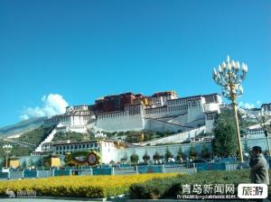 【3月】【山东成团】西藏包机 (青烟出港四飞8天)西藏拉萨布宫扎基寺林芝