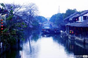【春节】江南荡口古镇、木渎水乡、苏北园林水绘园长广溪湿地公园大巴3日游