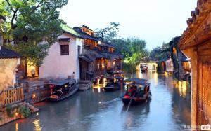 【端午】上海、苏州、杭州、西塘、乌镇四日游(全景苏沪杭)