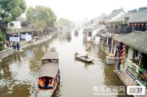 """【7月】醇品江南南京、无锡、苏州、杭州、上海+双水乡""""乌镇南浔""""双飞5日游"""