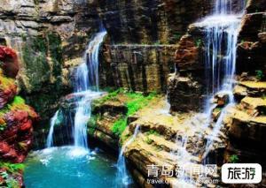 【十一】青岛成团绝美太行大峡谷、桃花谷、太行天路、通天峡大峡谷红旗渠五日游