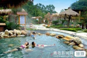 春节-威海天沐温泉、烟墩角天鹅湖、海草房二日游